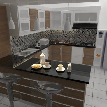 Design Kitchen Set Perum. Grand City